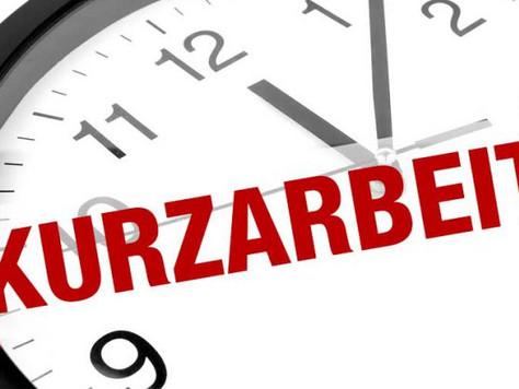 Kurzarbeit/Short-time work