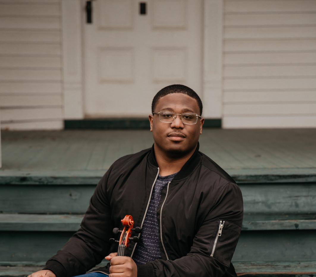 Eric on Violin
