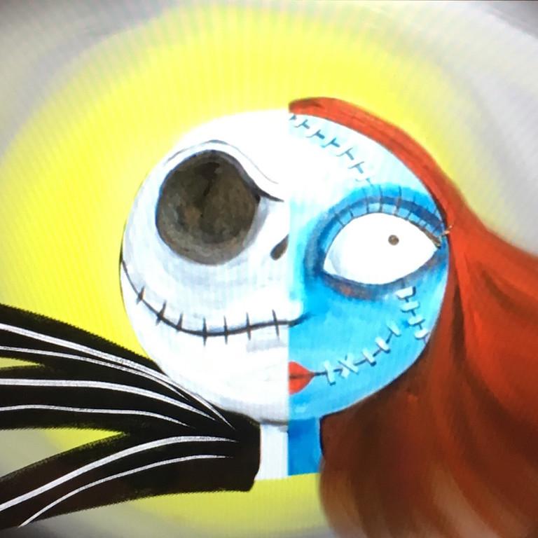 10/31 Jack & Sally Sip & Paint  (In-Studio or Virtually)