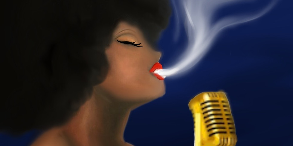 11/13  Lady Sings The Blues Sip & Paint (In-Studio or Virtually)