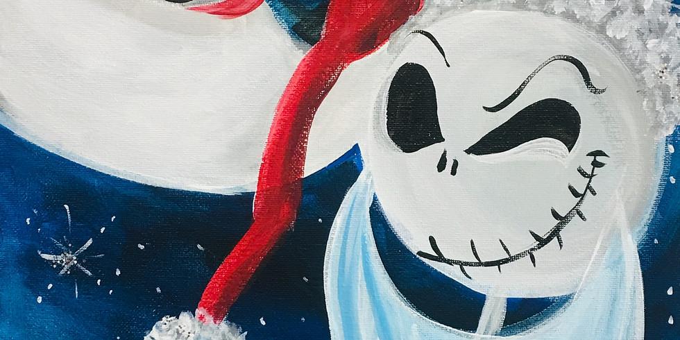 12/14 Sandy Claus Juice & Paint
