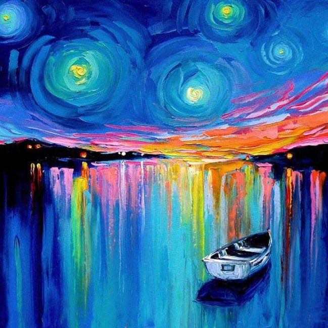 07/11 At Sea  Sip & Paint  (In-Studio or Virtually)