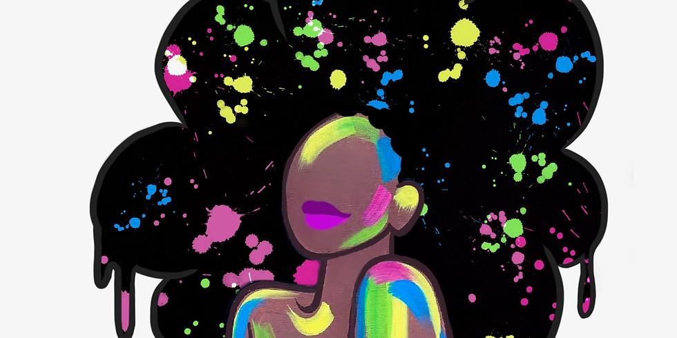 10/09 Watch Me Glow Sip & Paint (Glow & Dark)  (In-Studio or Virtually)