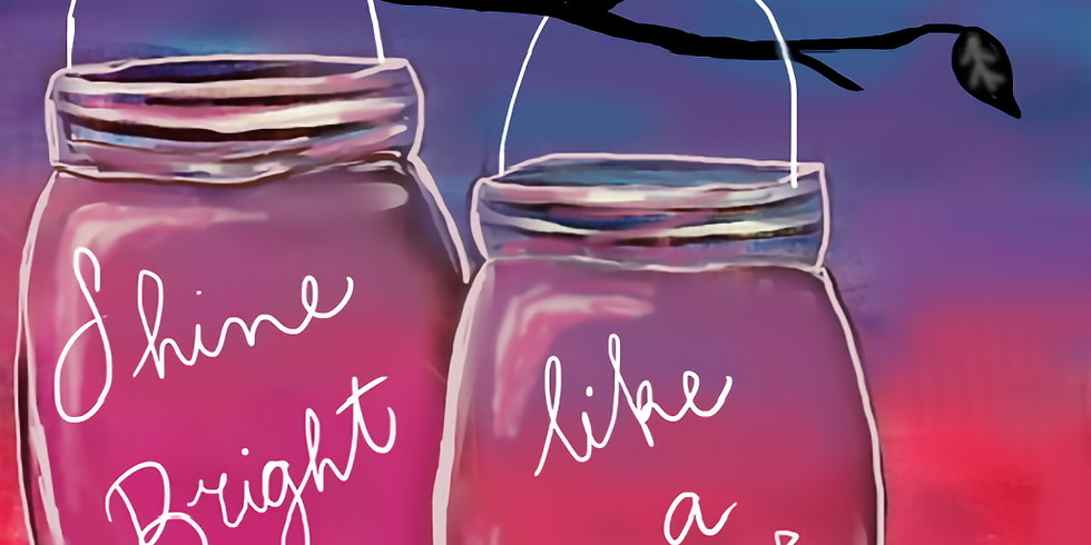 11/22 Shine Bright Paint & Sip (In-Studio or Virtual)