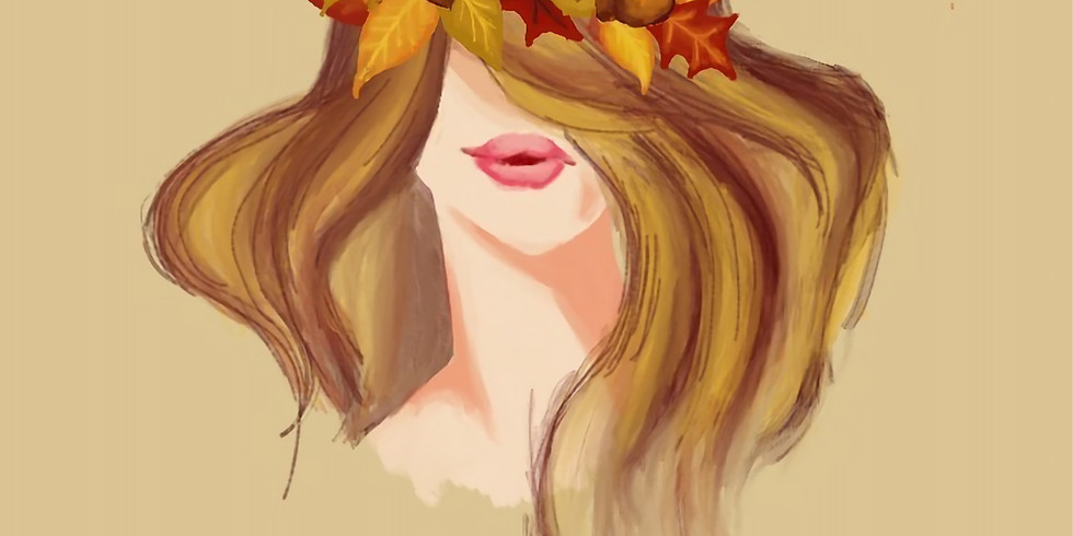09/04 Fall Queen Sip & Paint  (In-Studio or Virtually)