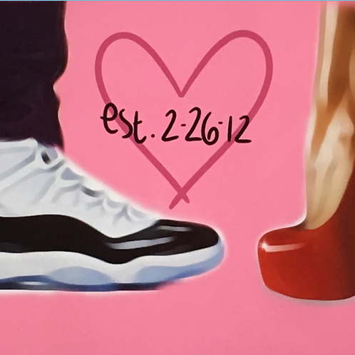 Established Love Zoom Paint Party