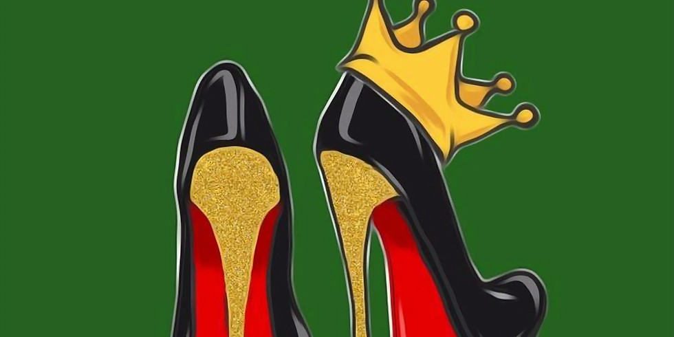 06/18 Red Bottoms Sip & Paint  (In-Studio or Virtually)