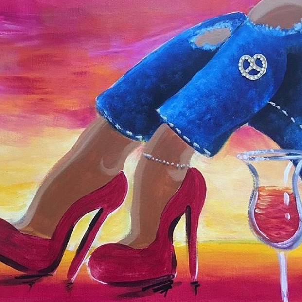 09/24 Do You Sip & Paint  (In-Studio or Virtually)