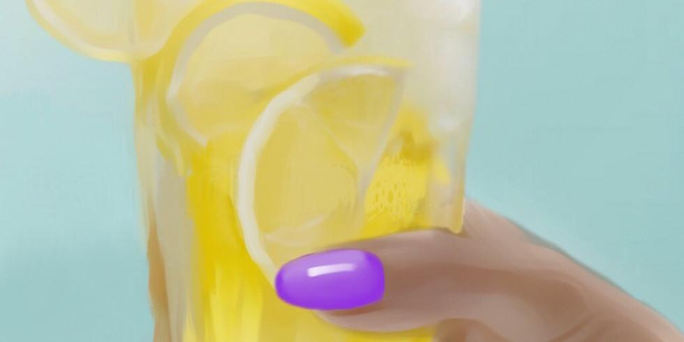 06/13  Lemonade Sip & Paint  (In-Studio or Virtually)