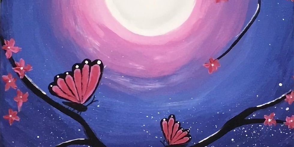 04/23 Give Me Butterflies Sip & Paint (In-Studio or Virtually)