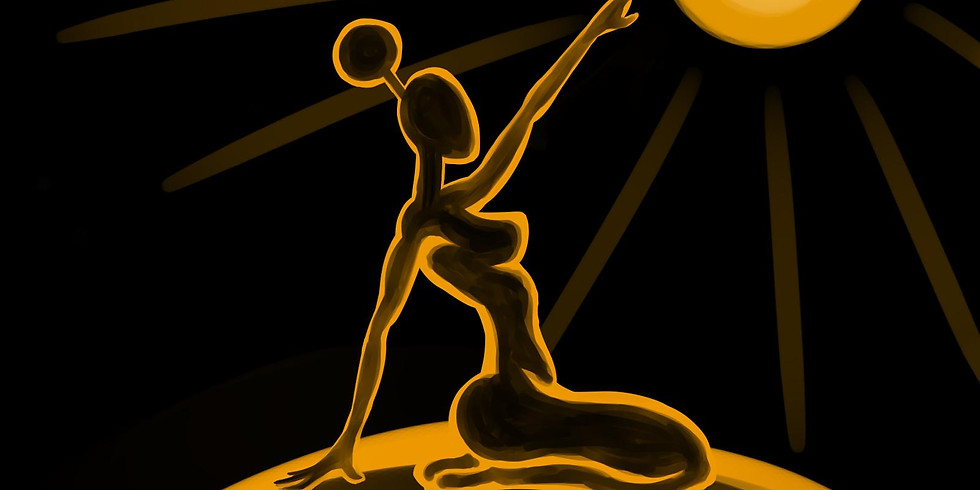01/30 Golden Shine Paint & Sip (In-Studio or Virtual)