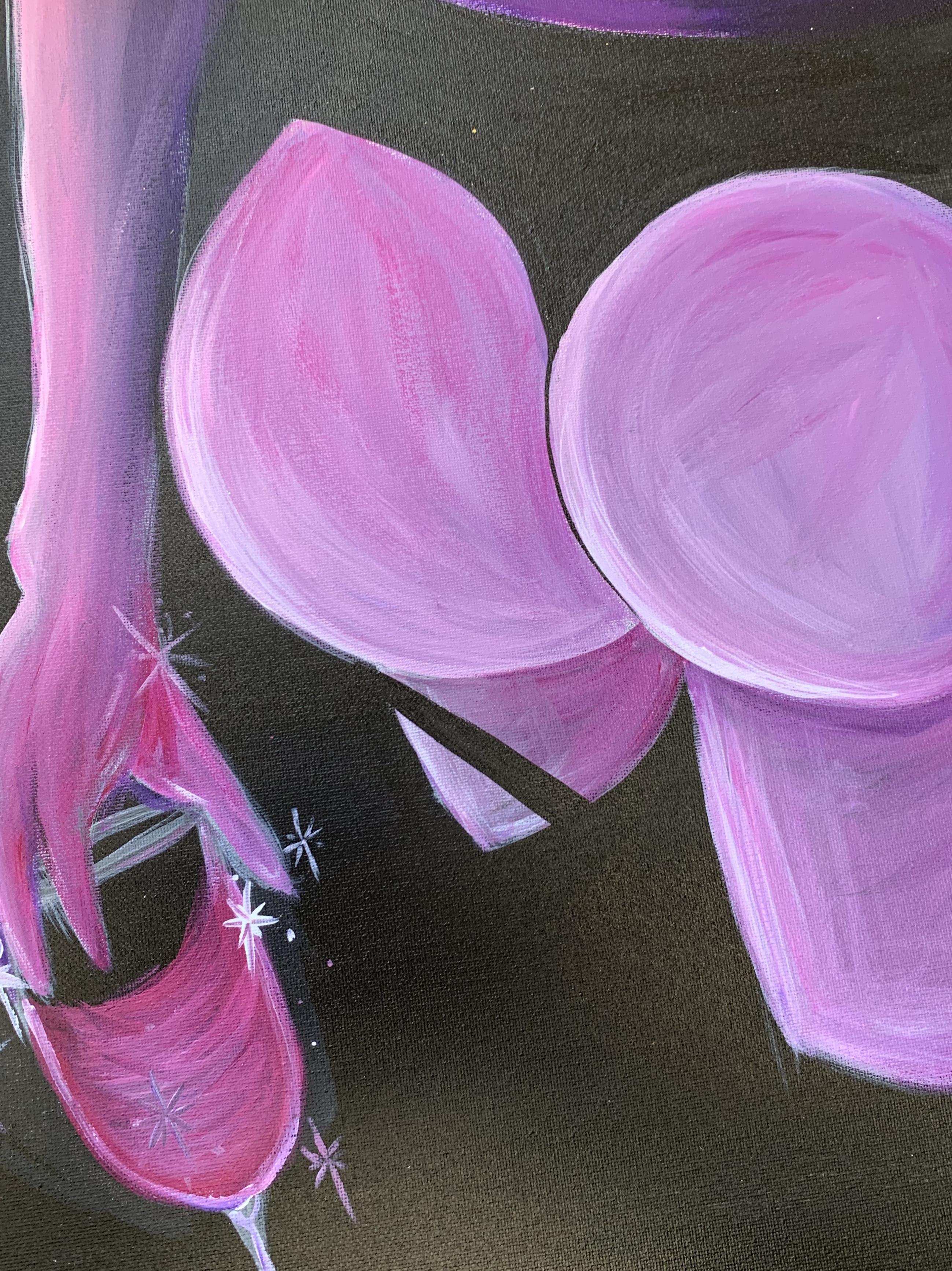 Midnight 16x20 Canvas Painting