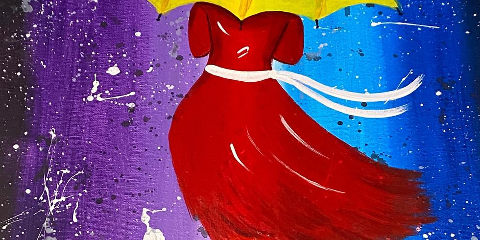 11/08 Under My Umbrella Sip & Paint (In-Studio or Virtually)