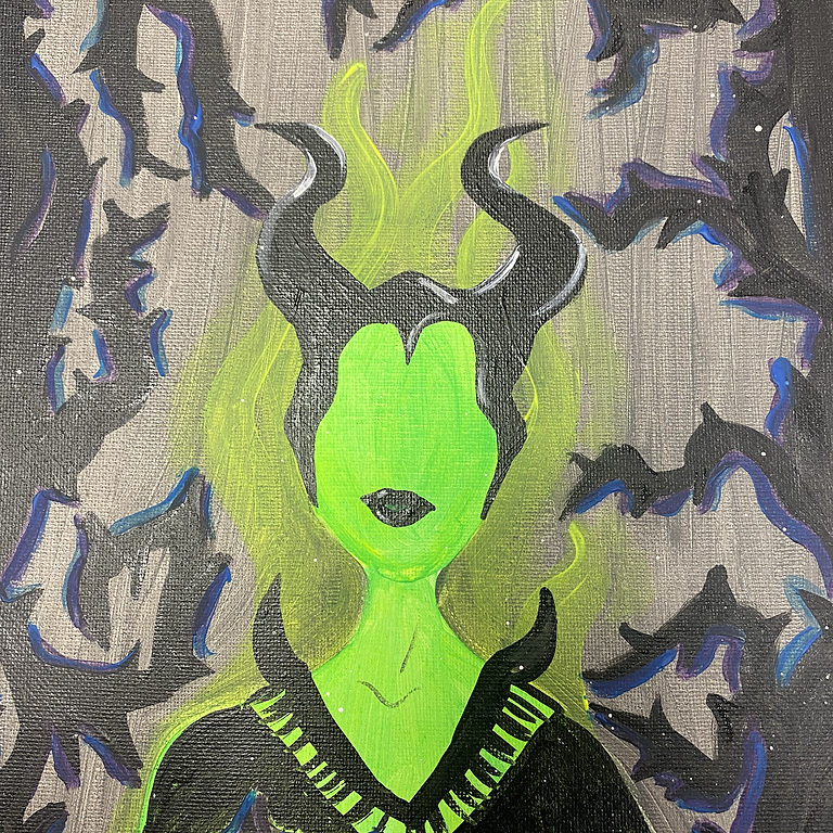 10/26 Together Tuesday Juice & Paint (Glow in the Dark Edition)