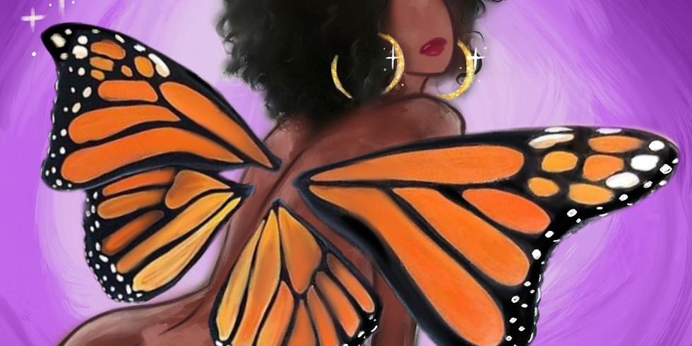 12/26 Metamorphosis Paint & Sip (In-Studio or Virtual)