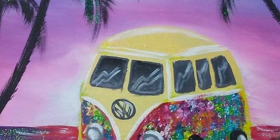 07/21 Volkswagen Bus Sip & Paint