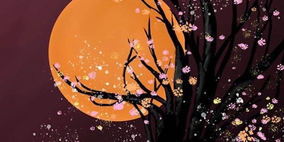 09/27 Full Moon Sip & Paint (In-Studio or Virtually)