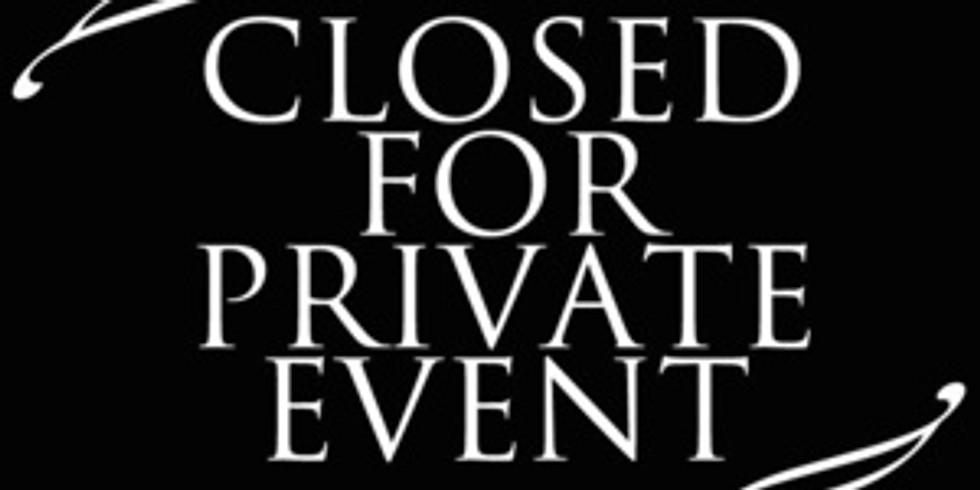 11/16 Private Event