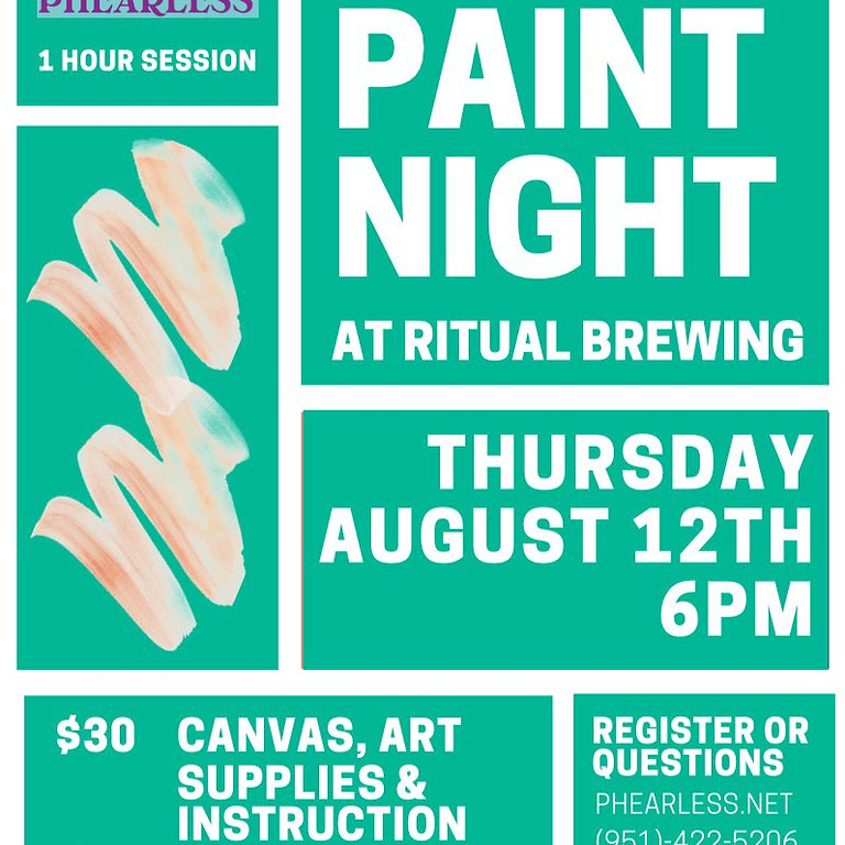 09/25 Ritual Brewing Beer & Paint