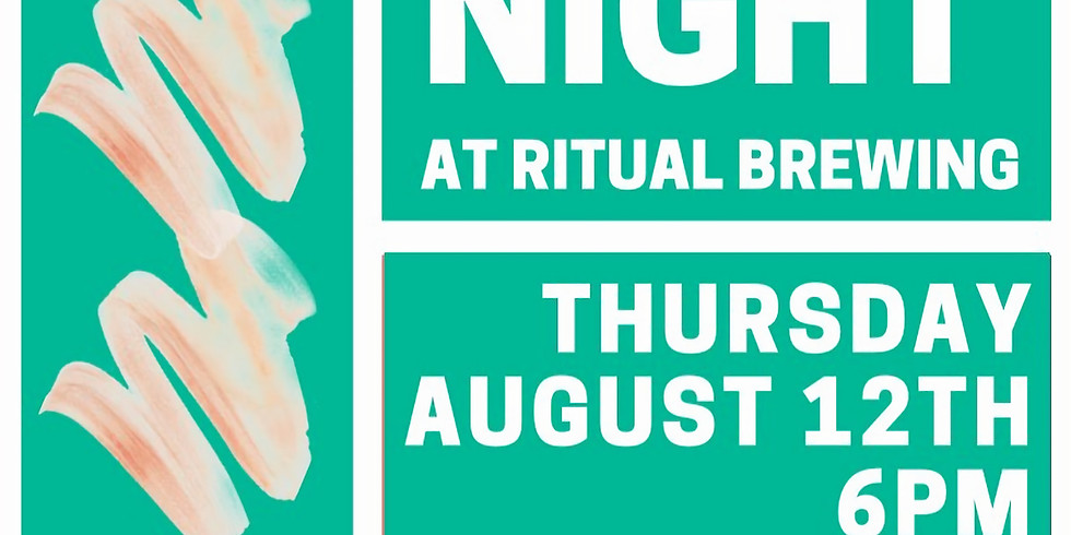 08/12 Ritual Brewing Beer & Paint