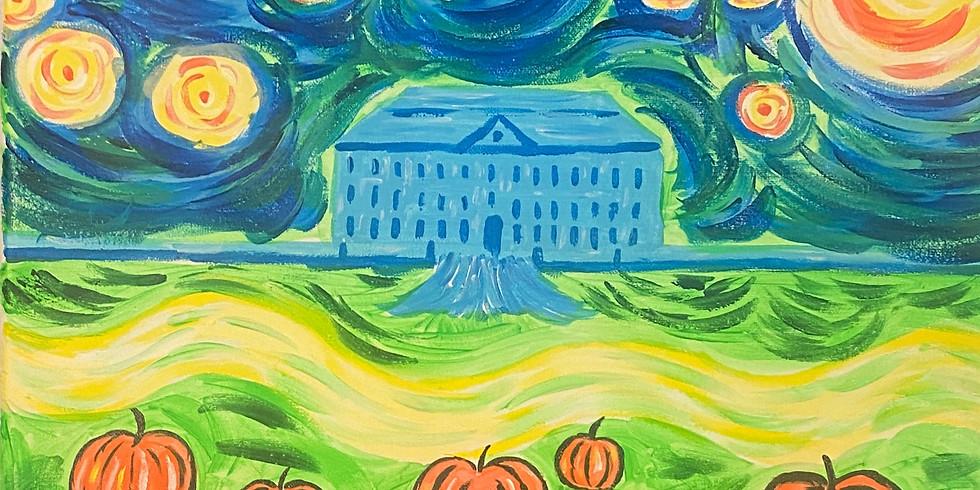 10/29 Starry Pumpkins Sip & Paint  (Glow & Dark)