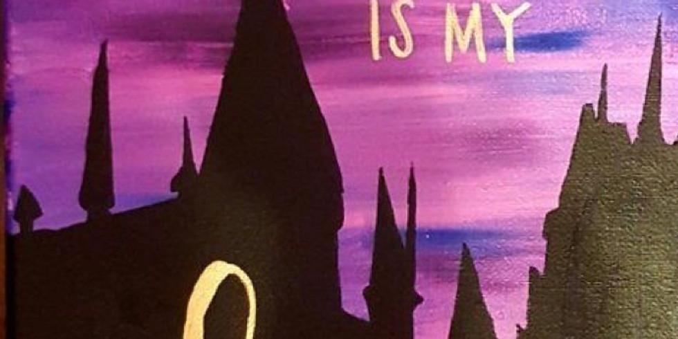 03/16 Hogwarts Juice and Paint