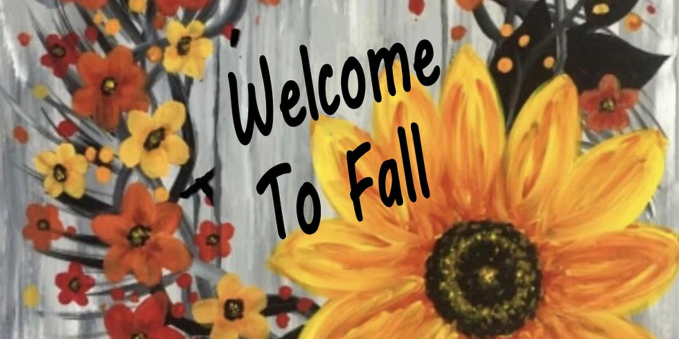 09/11 Welcome To Fall Sip & Paint  (In-Studio or Virtually)