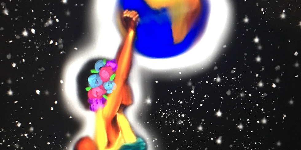 Give You The World (Virtual Paint Party)