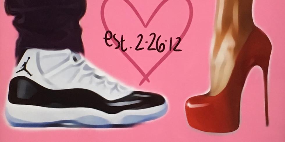 02/14  Established Love  Sip & Paint (In-Studio or Virtually)