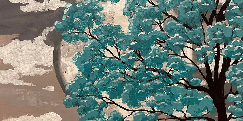 08/29 Tranquility Sip & Paint  (In-Studio or Virtually)
