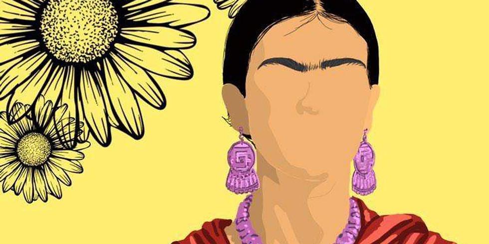07/19 Frida (In-studio or Virtual) Sip & Paint (1)
