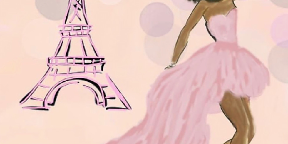 09/13 Sunday in Paris Sip & Paint (In-Studio or Virtually)