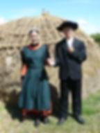 Costume traditionnel de Bouin début XXe