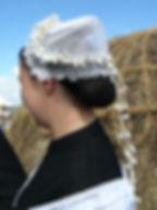 Coiffe de la mariée dans le marais nord vendéen début XXe