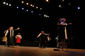 Tap Dou Païe, groupe folklorique vendéen, groupe folklorique de Vendée, la danse de l'aeroplane