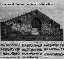 La ferme du vasais en 1980