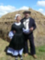Costume traditionnel de Saint Jean de Monts vers 1850