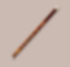 Une flute traversière en bois
