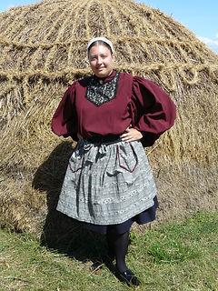 Costume traditionnel de Croix de Vie début XXe