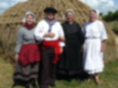 Costumes traditionnels de Noirmoutier début XXe