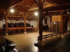 L'intérieur de la ferme du Vasais