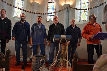 Le Groupe Touline à la Chapelle de la Bloire (Challans)