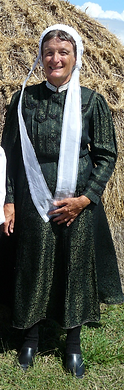 Costume traditionnel de l'ile d'Yeu début XXe