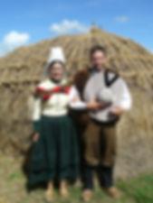 Costume traditionnel marais nord vendéen 1790