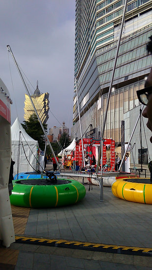 4in1 bungee trampoline