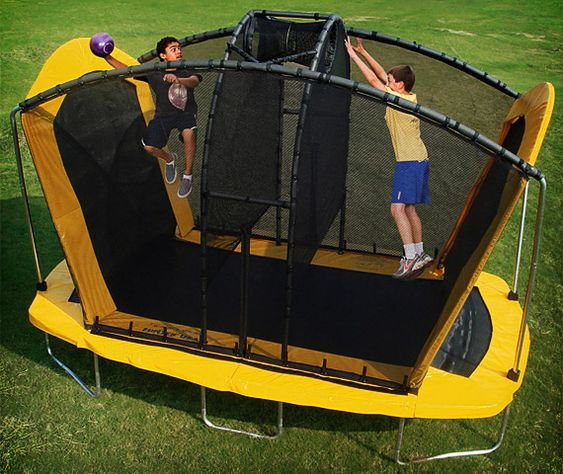 2in1 Spaceball trampoline