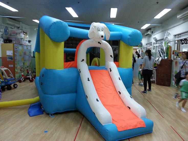 Blue Dog House Bouncer