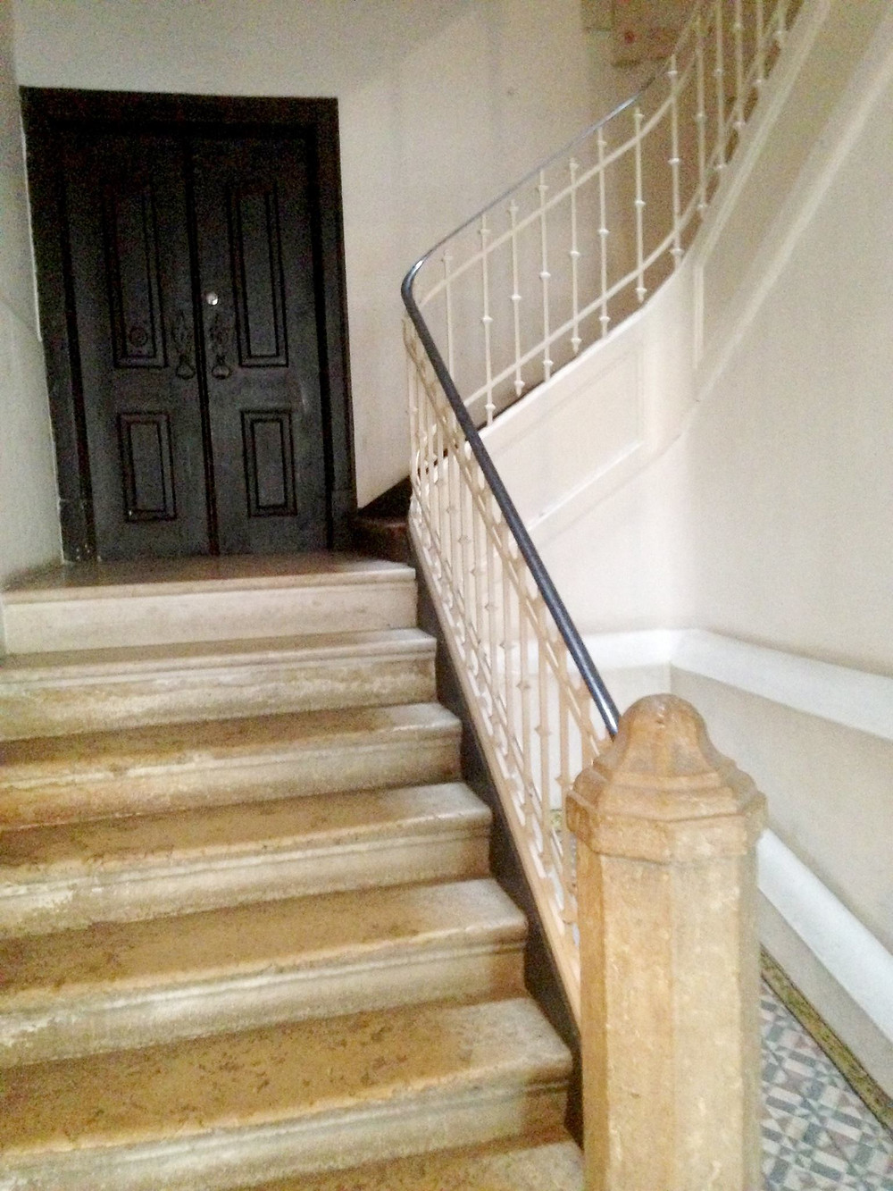 The 18th century staircase