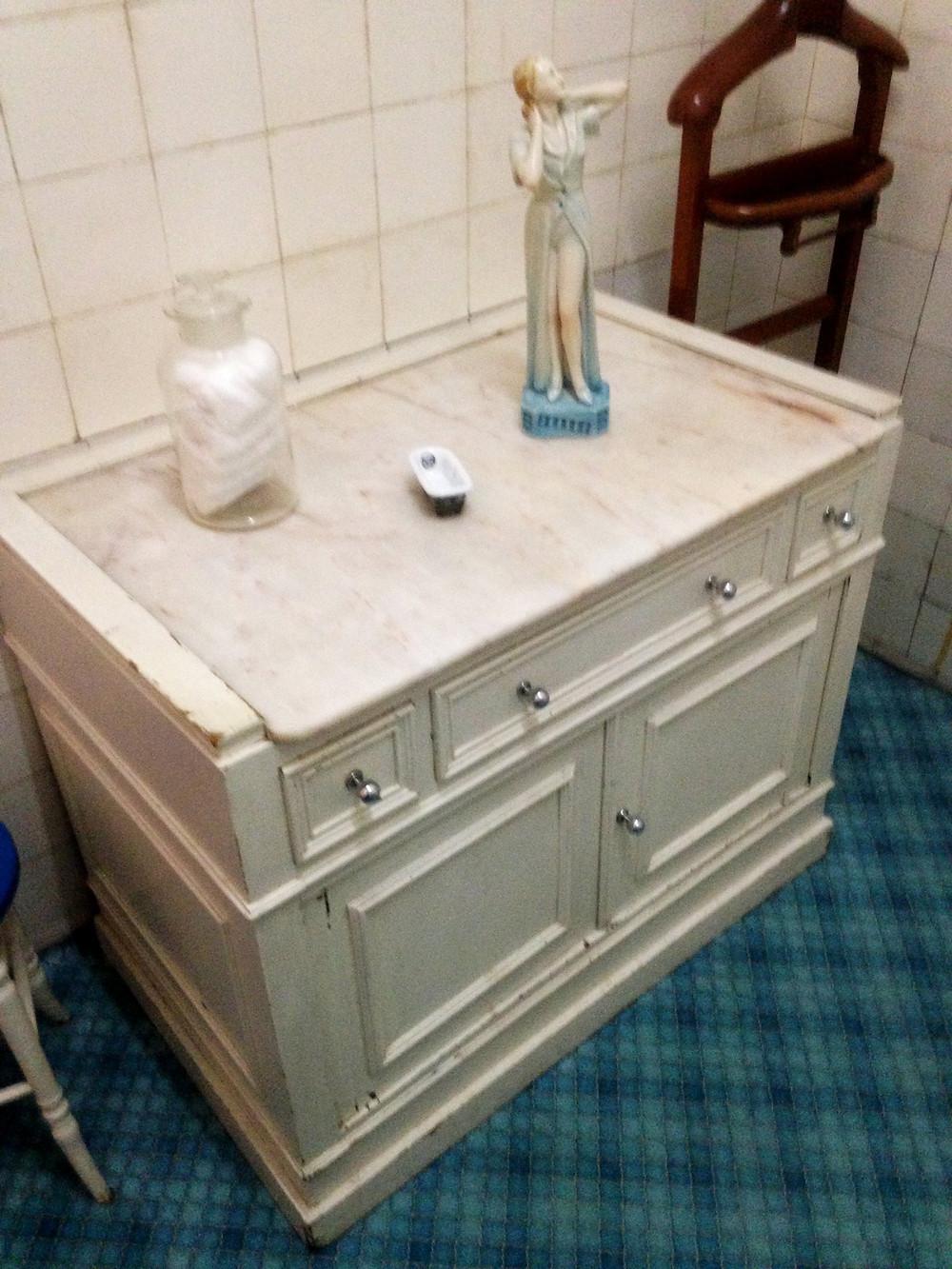 Start of the 20th century bathroom cupboard