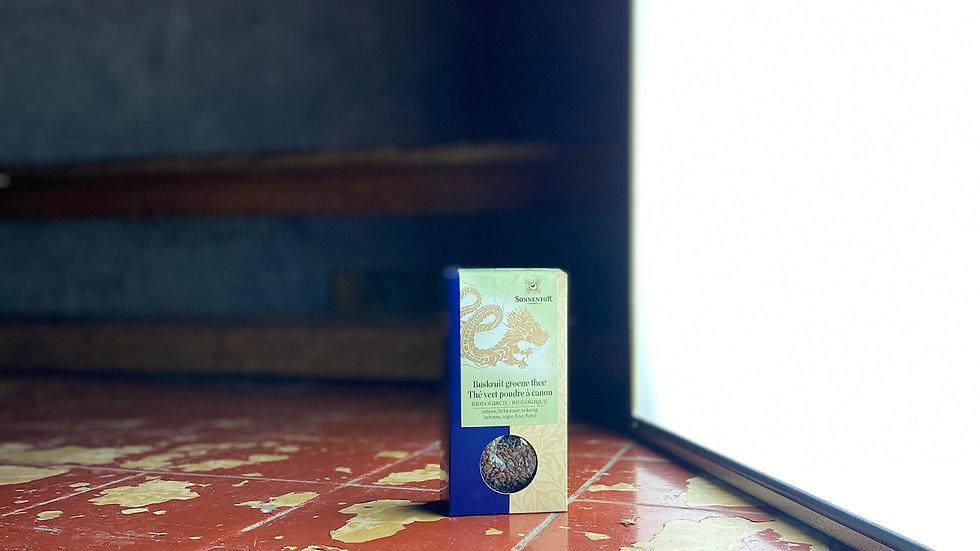Buskruit groene thee - Thé vert poudre à canon